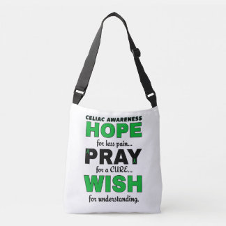 Hope Pray Wish...Celiac Crossbody Bag