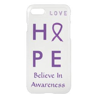 Hope Purple Awareness Ribbon iPhone 7 Case