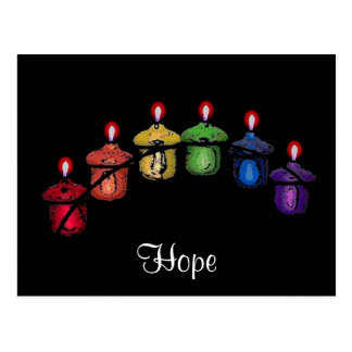 Hope Rainbow Postcard