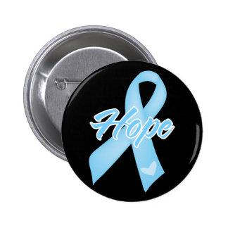 Hope Ribbon - Prostate Cancer Pin