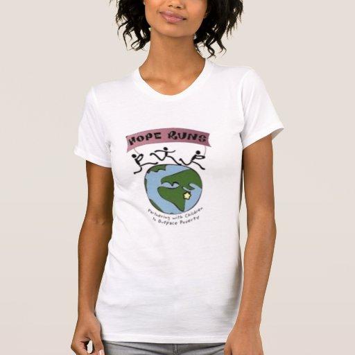 Hope Runs Micro-Fiber Running Singlet T-shirt