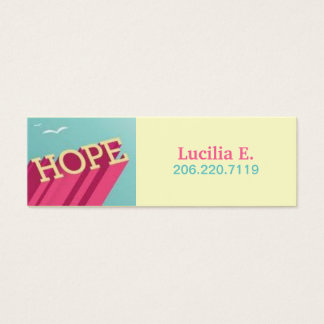 Hope Soars sponsor cards