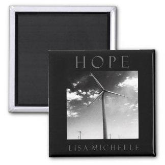 Hope Square Magnet