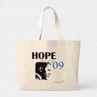 Hope Starts In 2009 Jumbo Tote Bag