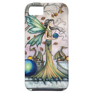 Hope Stones Autumn Fairy Dragon Fantasy Art iPhone 5 Case
