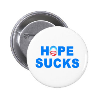 Hope Sucks Obama Pinback Button