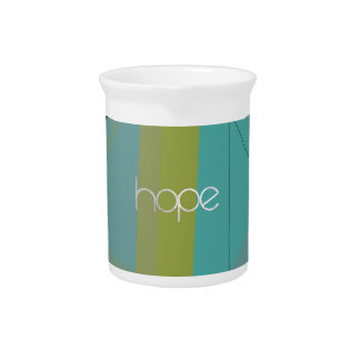 Hope Triangles Pitcher