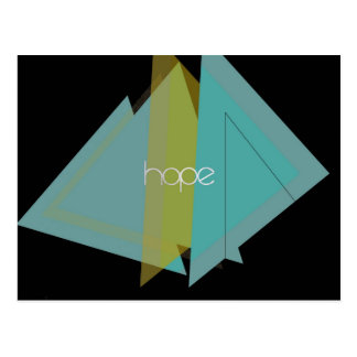 Hope Triangles Postcard
