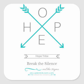 Hope Tribe Sticker - End the Stigma