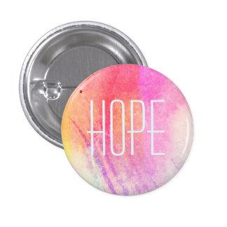 Hope Watercolor 3 Cm Round Badge