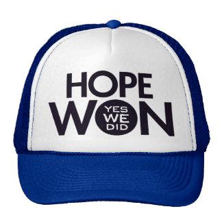 Hope Won Hat