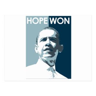 Hope Won Postcard