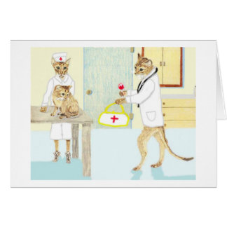Hope You Feel Better Soon!!! Greeting Card