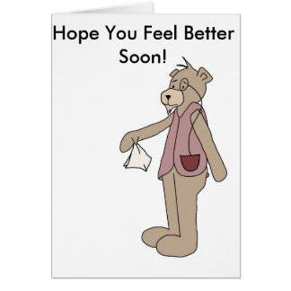 Hope You Feel Better Soon Greeting Card