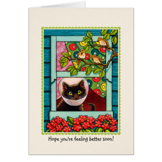 'Hope you're feeling better soon' CAT Card
