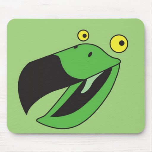 Hope you're feeling better soon! Get well green Mouse Pads