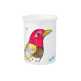Hopeful bird pitcher