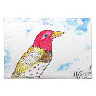 Hopeful bird placemat