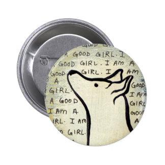 "Hopeful dog claims, ""I am a good girl."" Pins"