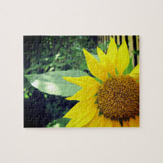 Hopeful Sunflower Relaxing Self-Care Jigsaw Puzzle
