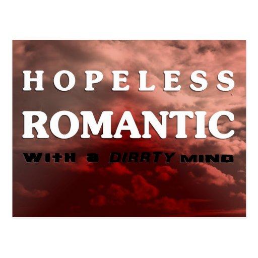Hopeless novel TIC with A dirrty mind Post Card