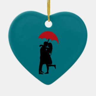 Hopeless Romantic Ceramic Ornament