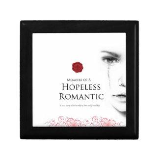 Hopeless Romantic Giftbox (small) Small Square Gift Box