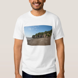 Hopewell Rocks and The Ocean Tidal Exploration Tshirts