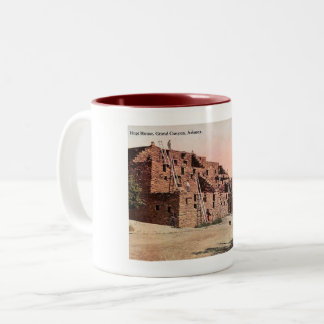 Hopi House, Grand Canyon, Arizona Vintage Two-Tone Coffee Mug