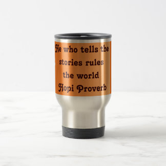 Hopi support travel mug