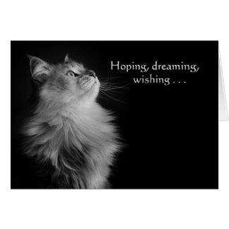 Hoping, Dreaming, Wishing Birthday Card