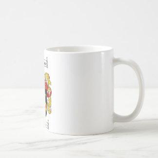 HOPKINS FAMILY CREST -  HOPKINS COAT OF ARMS COFFEE MUG