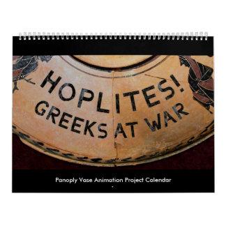 Hoplites! Greeks at War Calendar