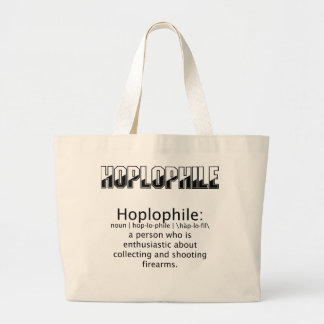 Hoplophile - Totebag Jumbo Tote Bag