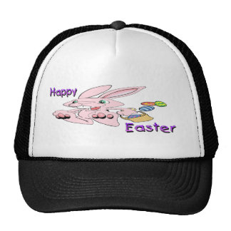 Hopping Easter Bunny Mesh Hat