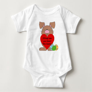 Hopping to your Heart Baby Bodysuit