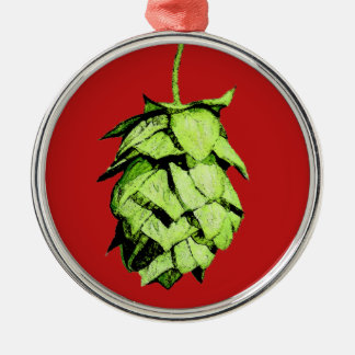 Hoppy Cheer to you! Metal Ornament
