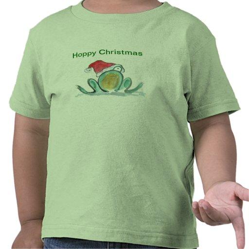 Hoppy Christmas Frog Shirt
