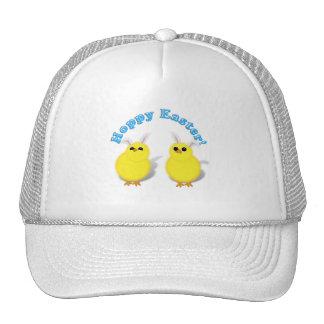 HOPPY EASTER!  Baby Chicks w/Bunny Ears Hats