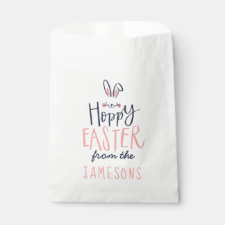 HOPPY EASTER FAVOUR BAG