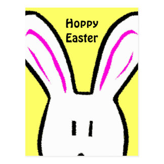 Hoppy Easter Postcard