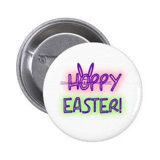 Hoppy Easter With Bunny Face Ears Pins