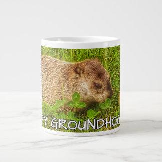 Hoppy Groundhog Day! mug