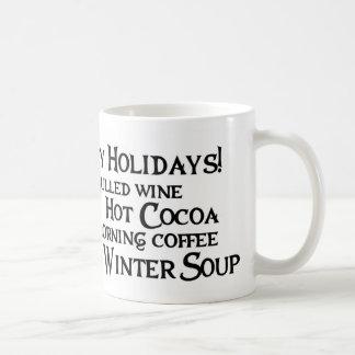 Hoppy Holidays Flutterby bunny - Mug