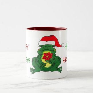 Hoppy Holidays Frog - Mug