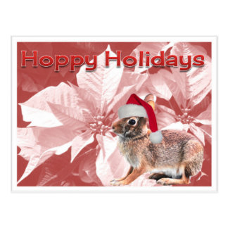 Hoppy Holidays Postcard