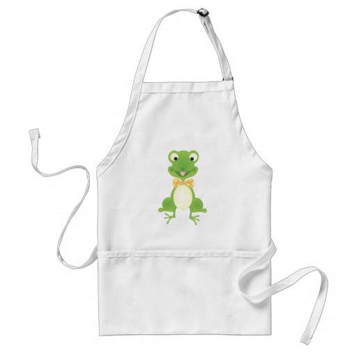 Hoppy the Frog Apron