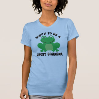Hoppy To Be A Great Grandma Gift T-Shirt