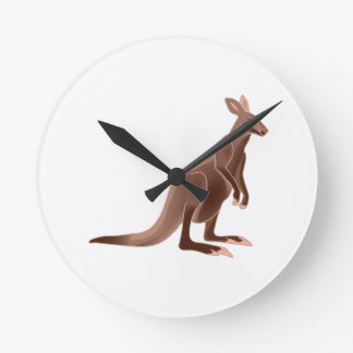Hoppy Trails Round Clock