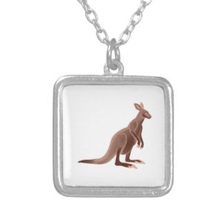 Hoppy Trails Silver Plated Necklace